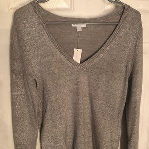 NWT NY&C Sparkly Grey Sweater